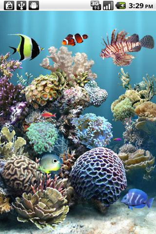 aniPet Aquarium LiveWallpaper for Android - Free download and