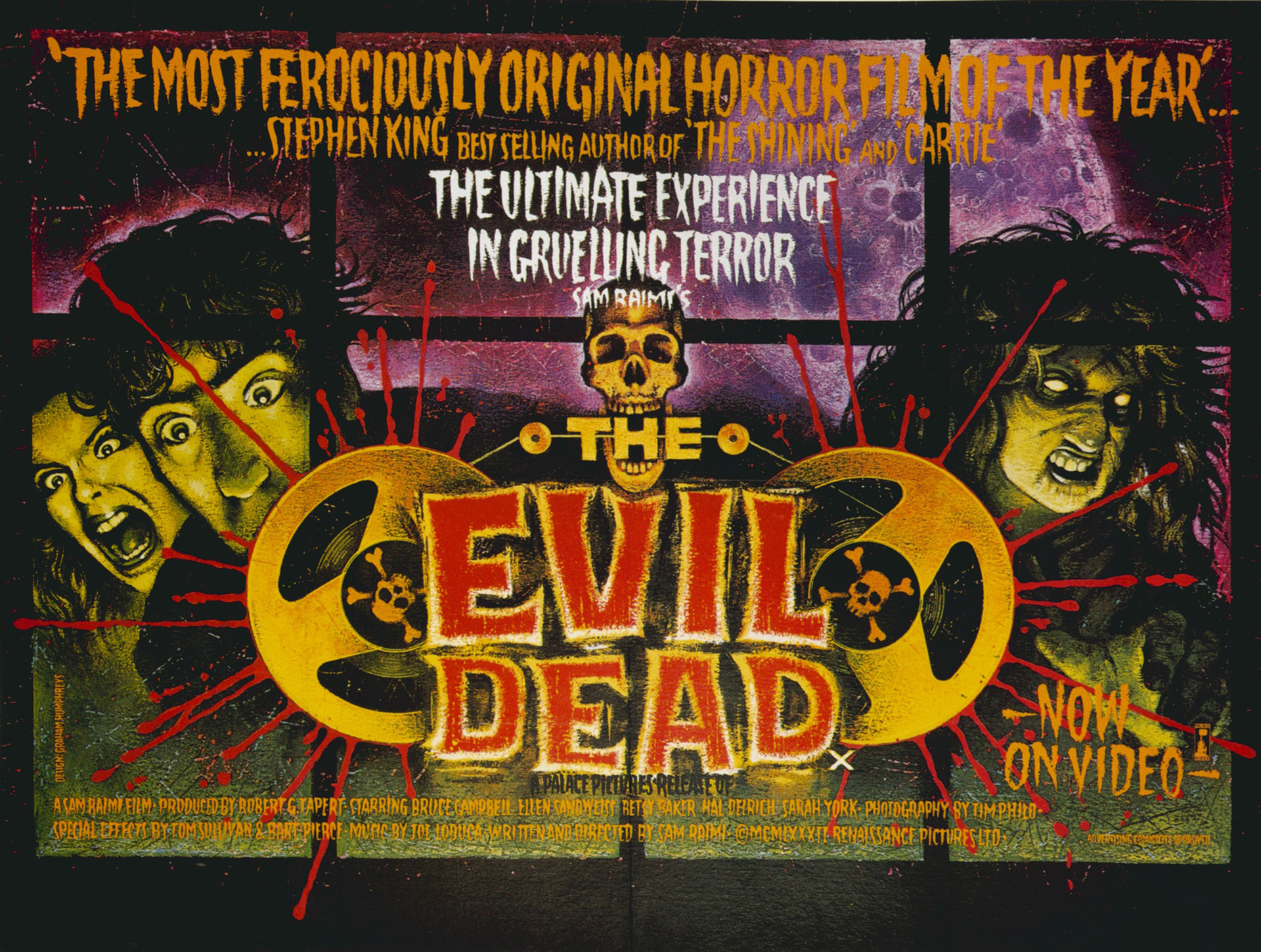 12 The Evil Dead HD Wallpapers | Backgrounds - Wallpaper Abyss