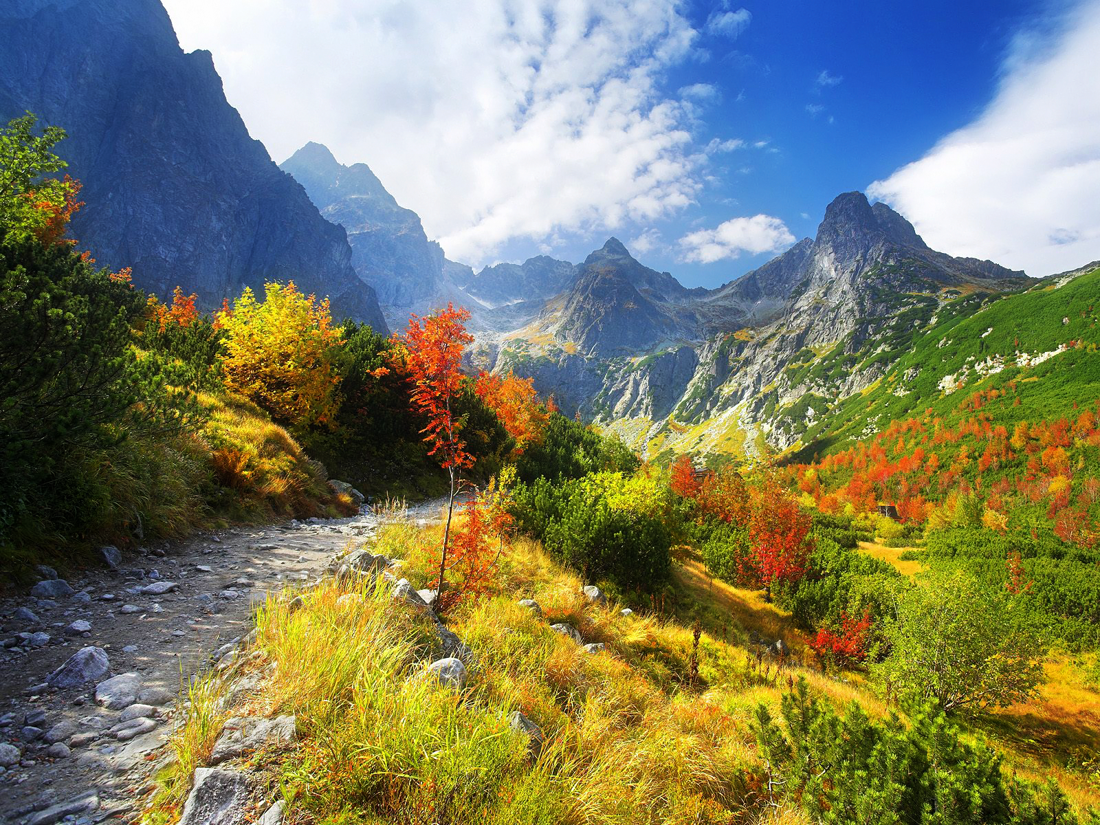 Autumn Mountain Wallpapers Widescreen - Scerbos com