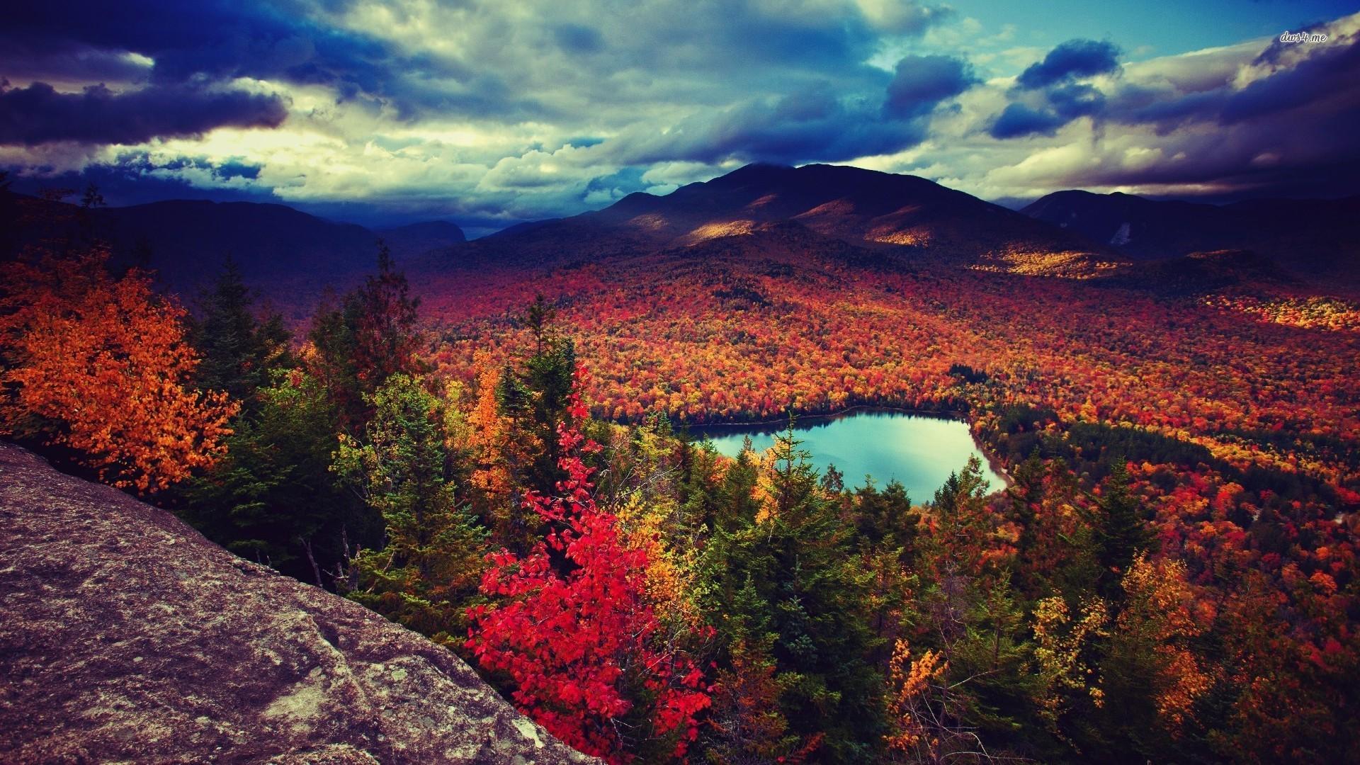 Fall Mountain Wallpapers Desktop Background : Nature Wallpaper