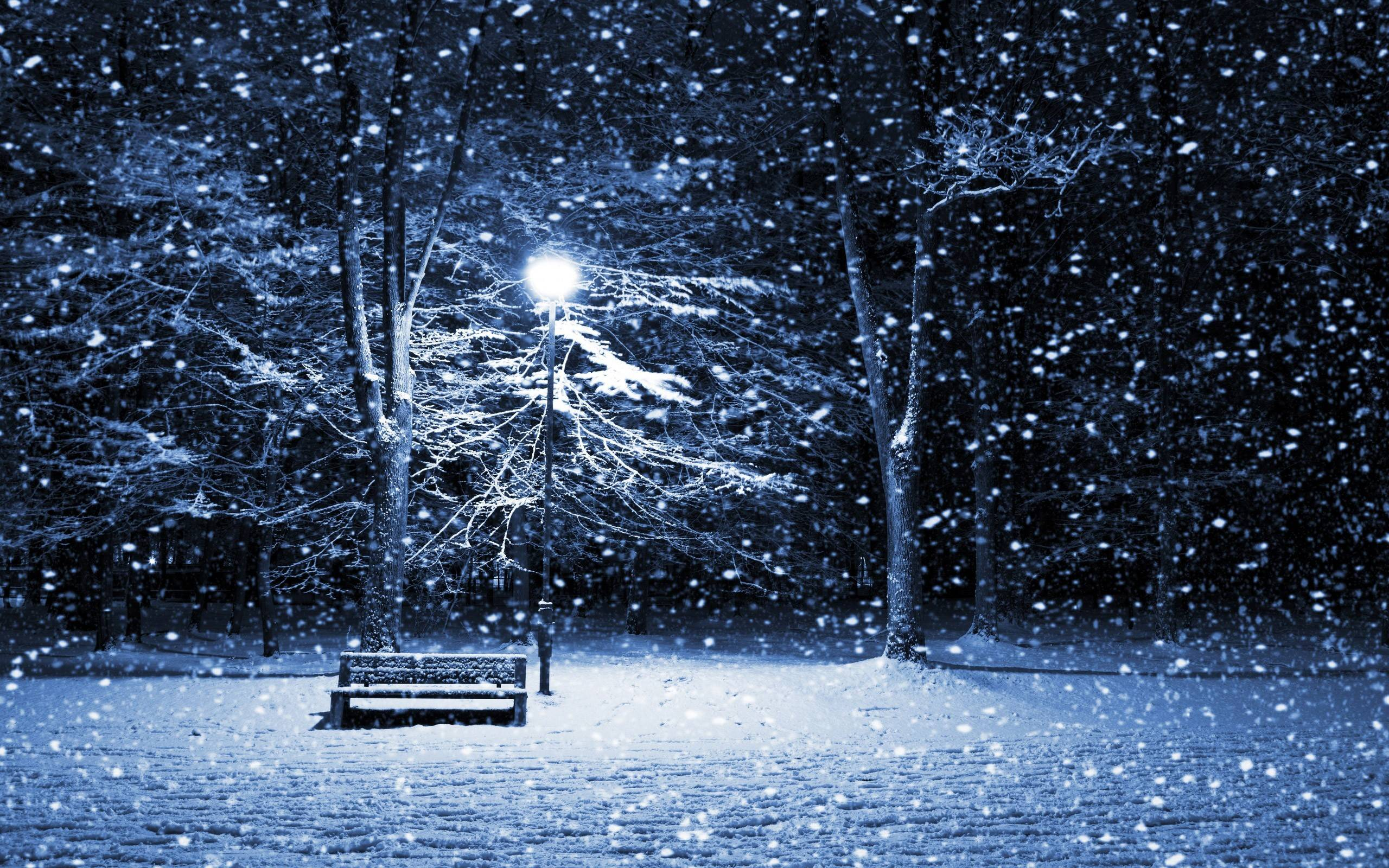 Falling Snow Wallpaper For Desktop, Falling Snow Wallpapers (43+)