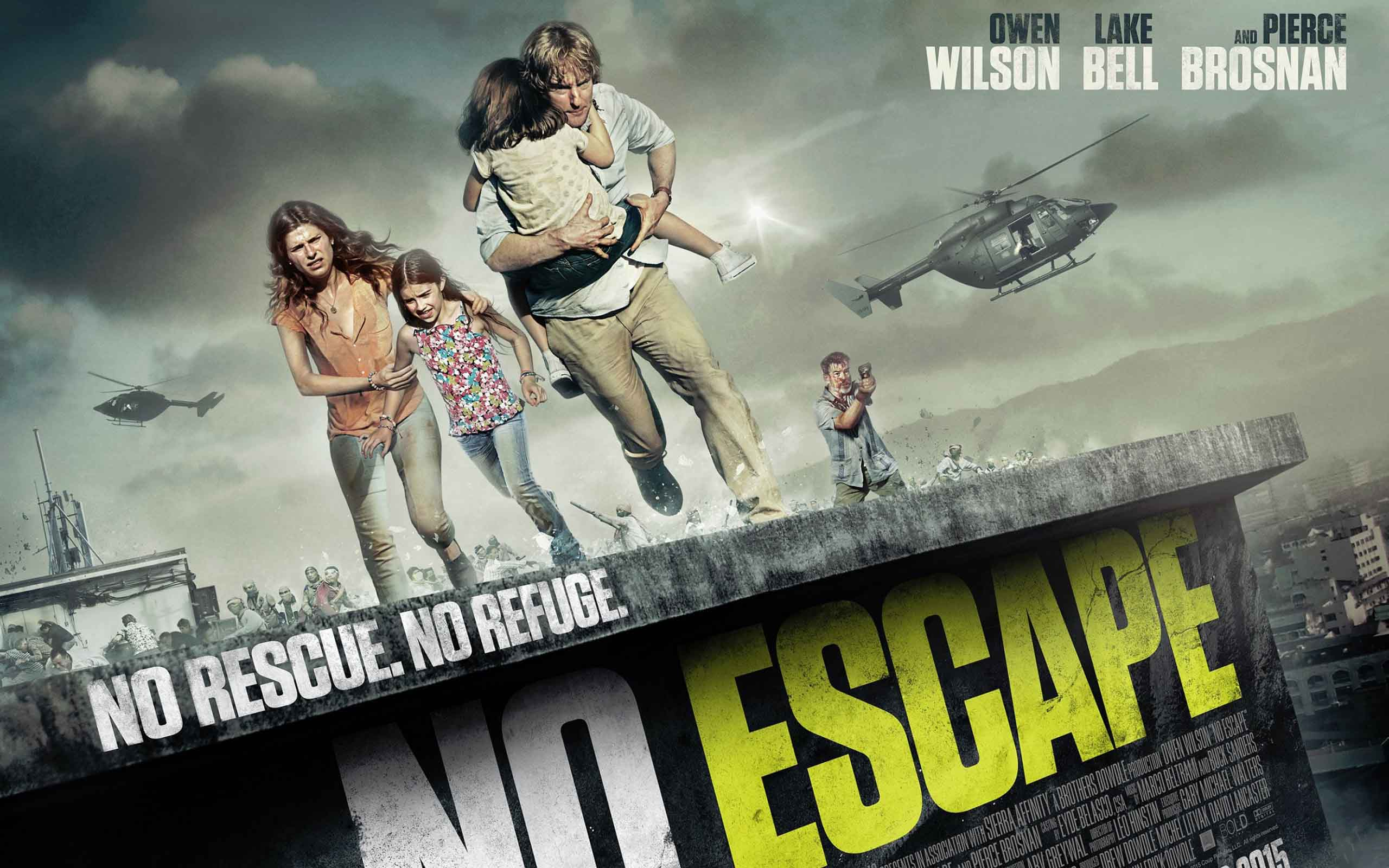 No Escape 2015 Movie Poster Wallpaper - DreamLoveWallpapers