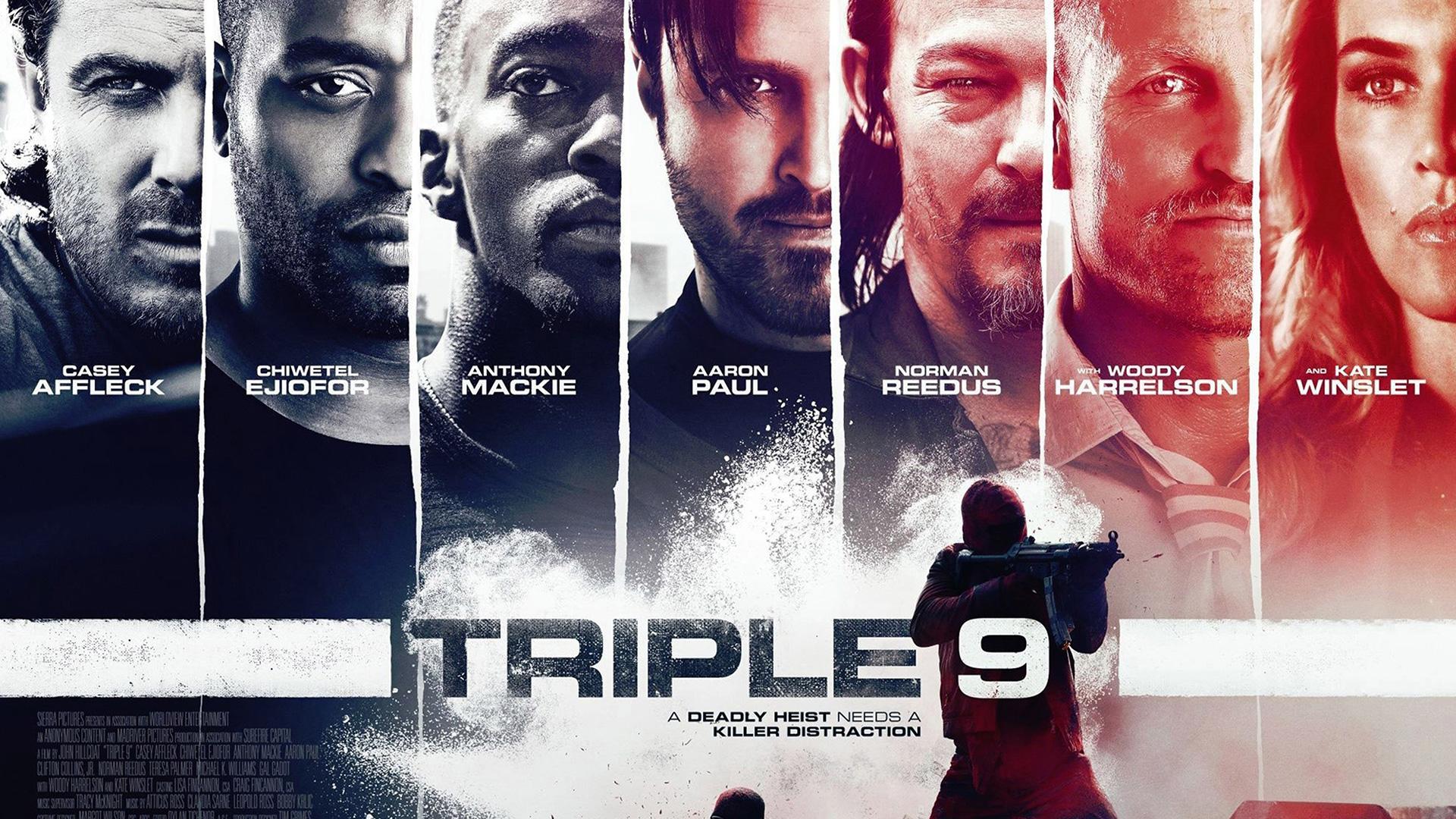 Triple 9 Wallpaper HD 2016 film Poster Exclusive! Free HD