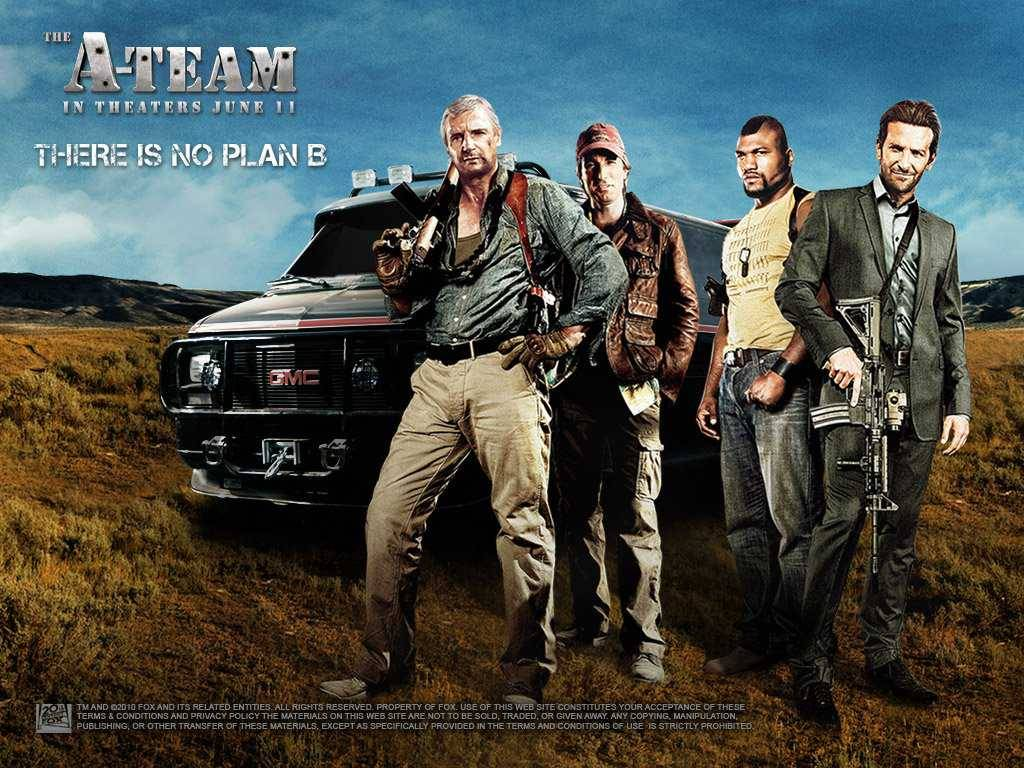 A-Team promotional film poster Wallpaper - Action Movies Wallpaper