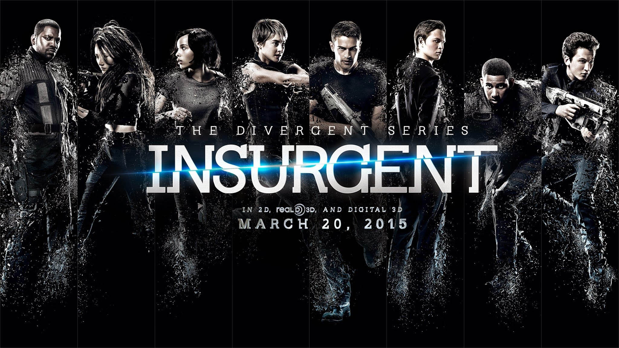 The Divergent Series: Insurgent Movie Poster - Wallpaper #3943 on