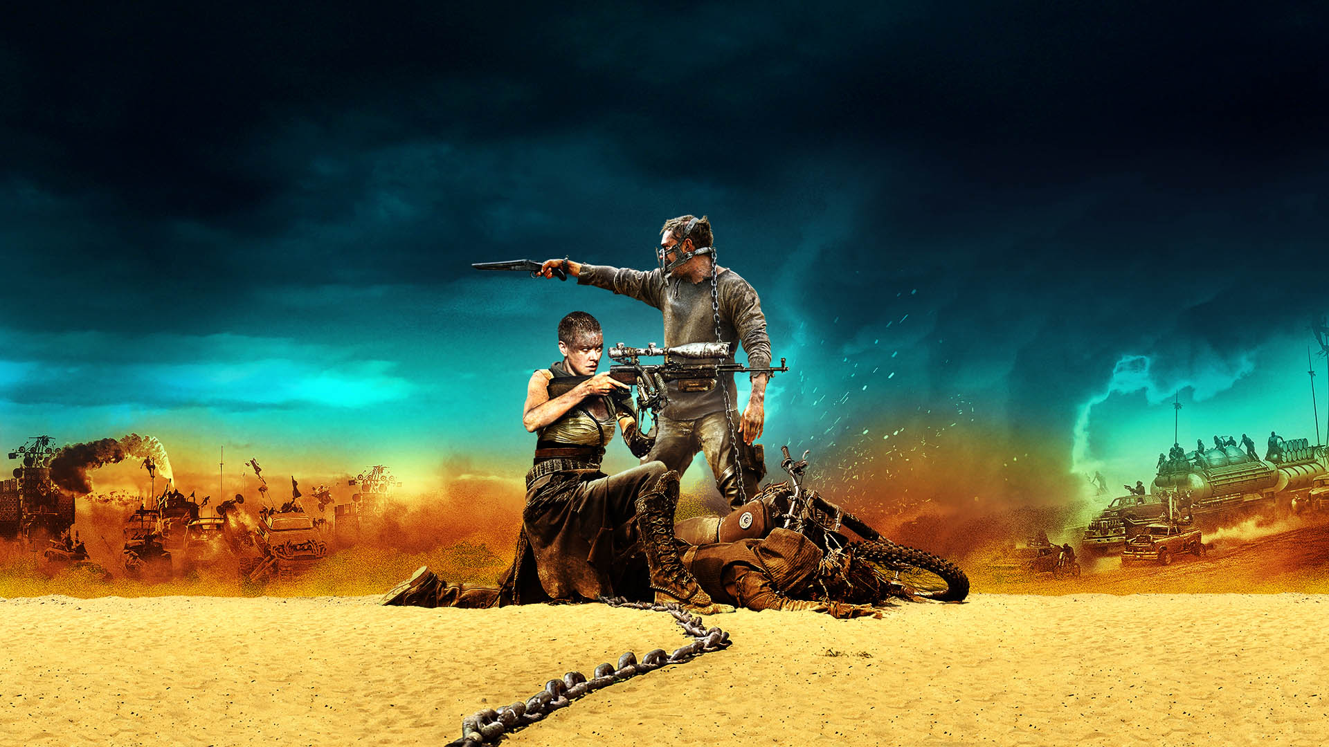 Mad Max: Fury Road Amazing Movie Poster - 1920x1080 - Full HD 16/9