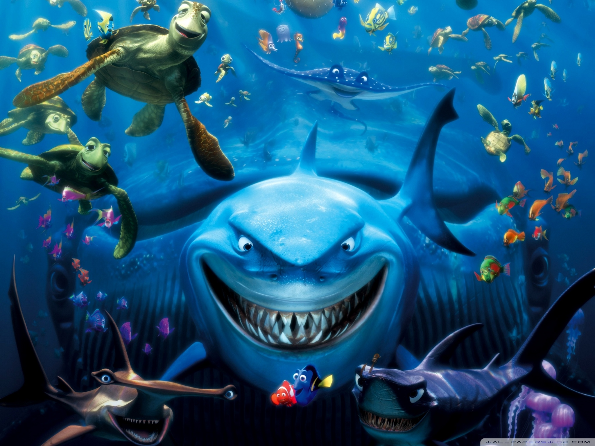 Download Finding Nemo Wallpaper Hd Pictures To Pin