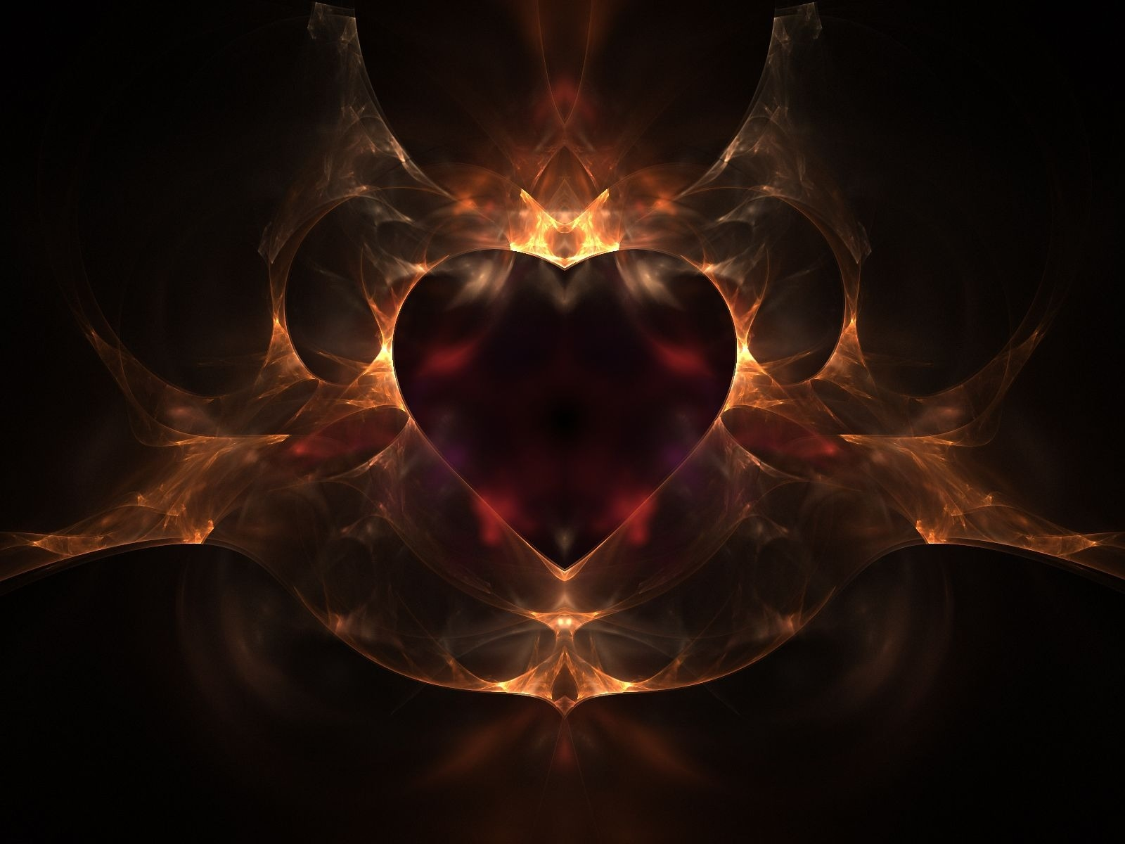 Fire heart wallpaper wallpapers for free download about (3,110