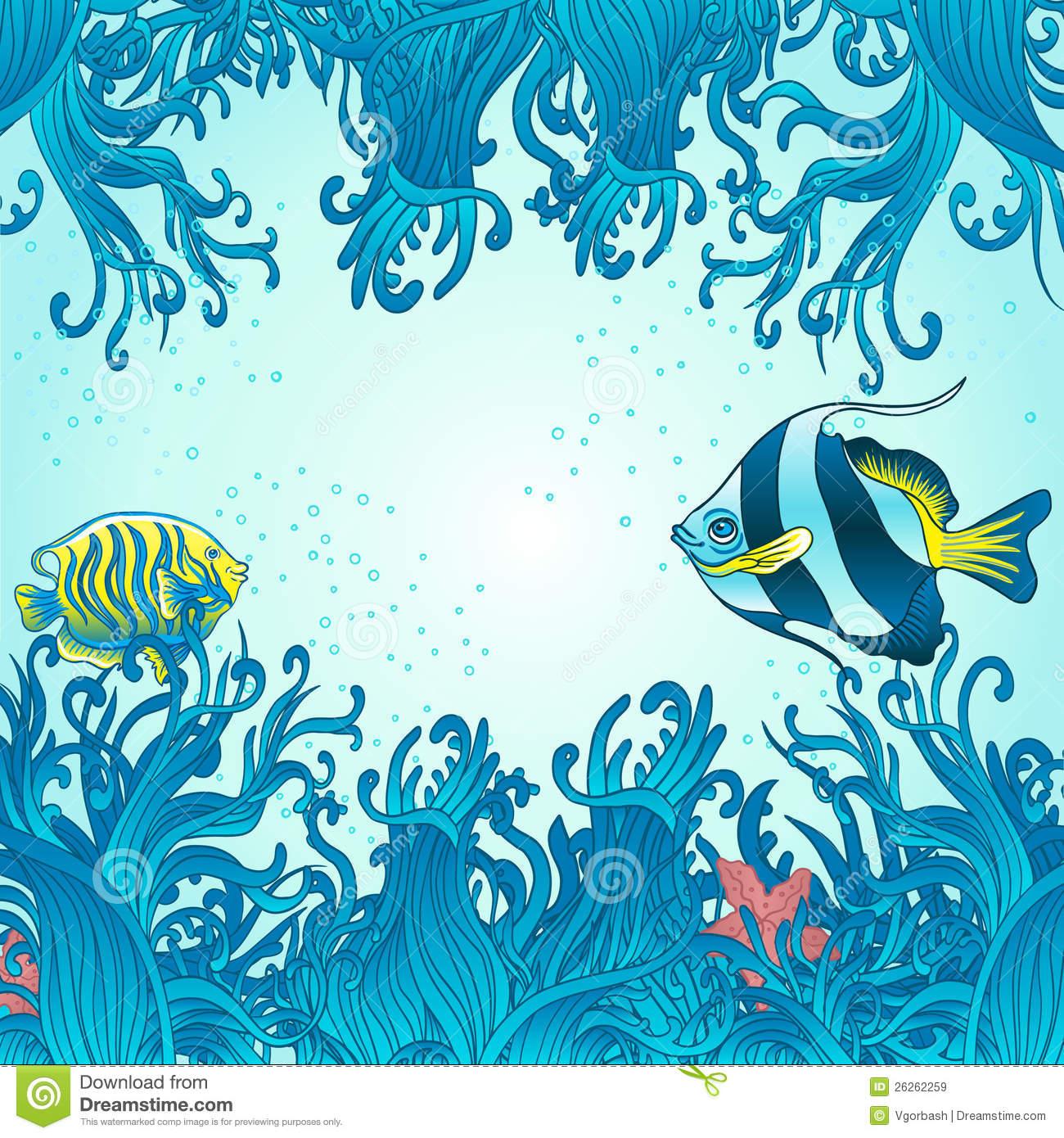 Sea Fish Background Royalty Free Stock Images - Image: 26262259