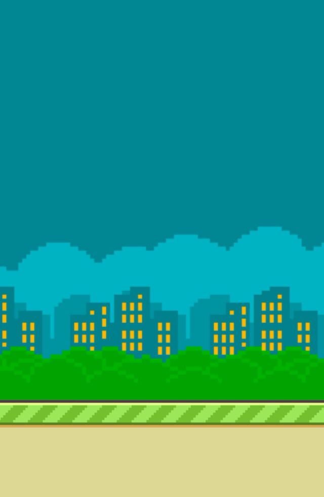 Flappy bird city background  Makes a nice wallpaper  | Others