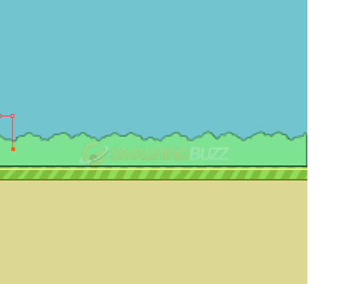 Learn How-to Create a Flappy Bird Game Design using Photoshop