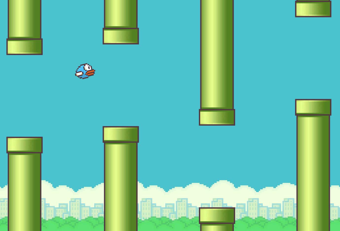 Flappy Bird Background - wallpaper