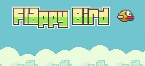 Flappy Bird Night Background - wallpaper