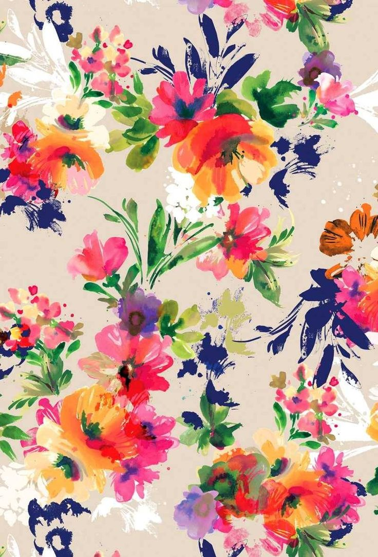 Floral Print Wallpaper Tumblr Sf Wallpaper