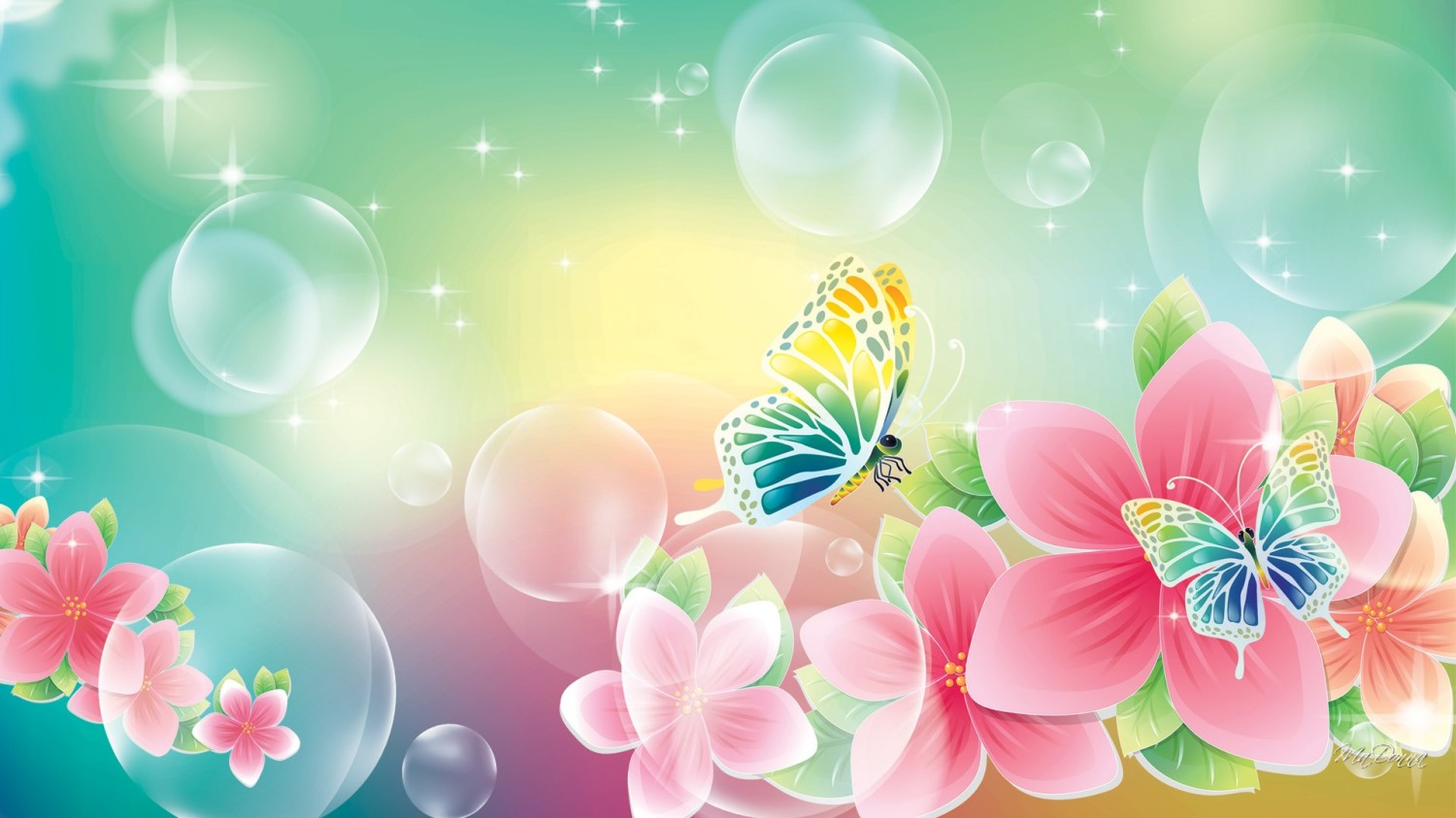 Interesting Flowers And Butterflies HDQ Images Collection, HD