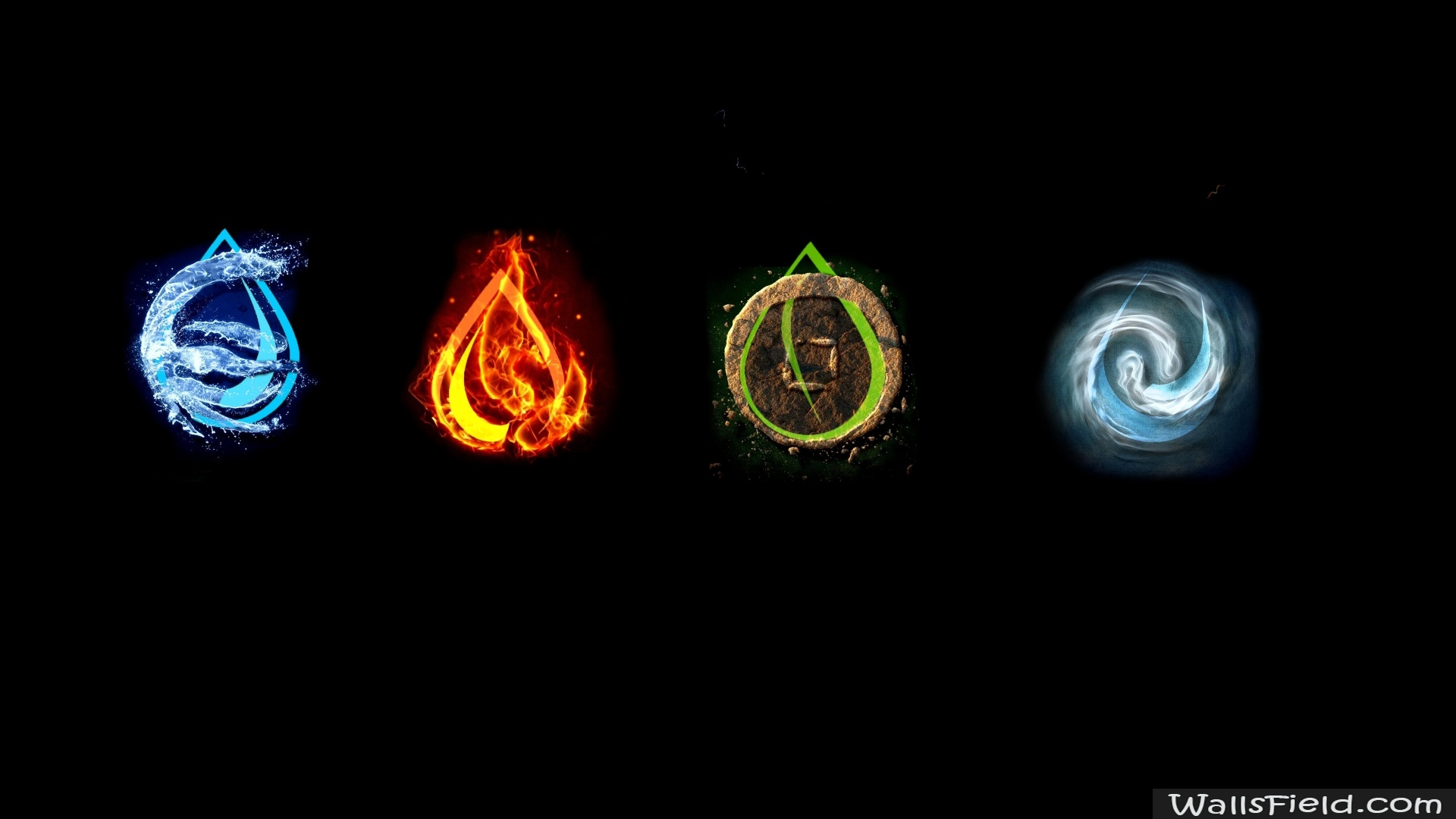 four elements wallpaper