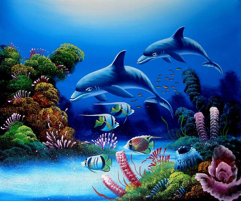 Free Aquarium Wallpaper
