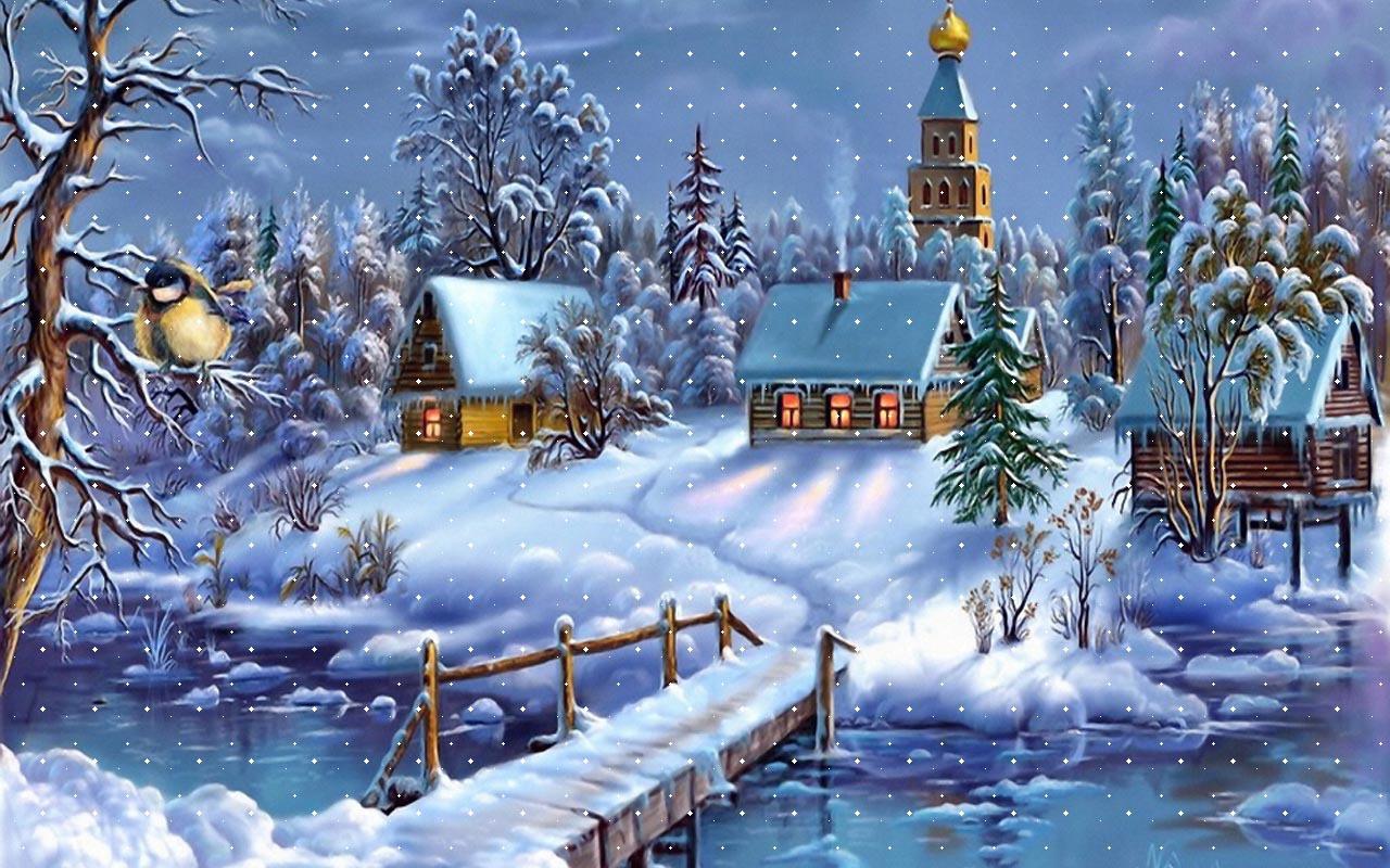 Free Desktop Winter Wallpaper Backgrounds
