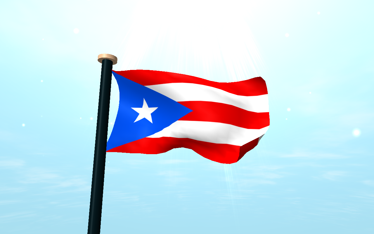 Puerto Rico Flag 3D Wallpaper - Android Apps on Google Play