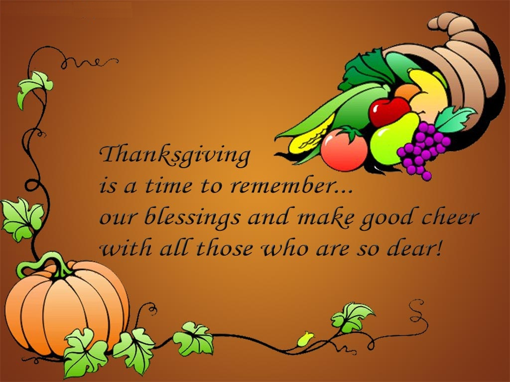 Free Thanksgiving Computer Wallpaper Page 1