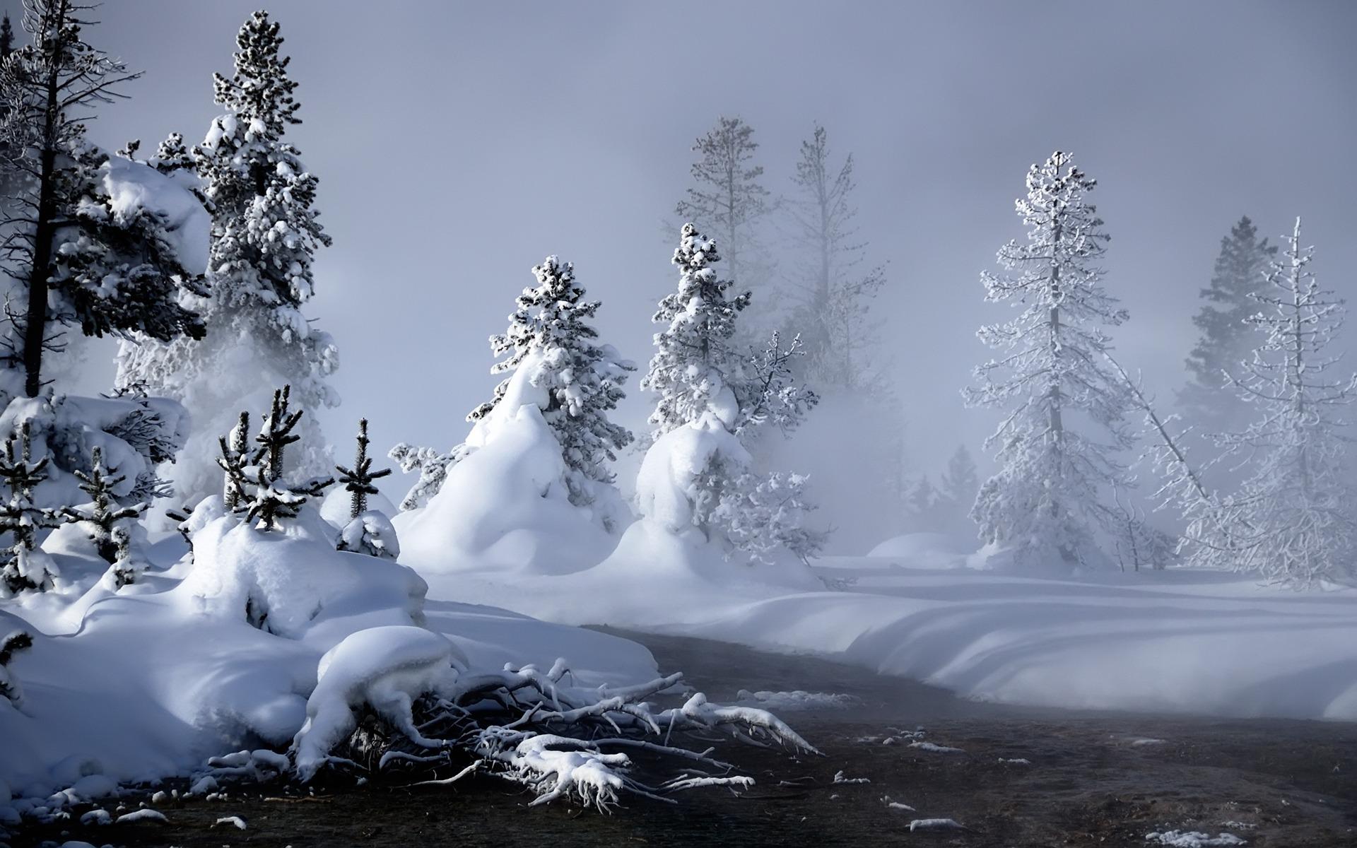 25 Stunning Winter Wallpapers