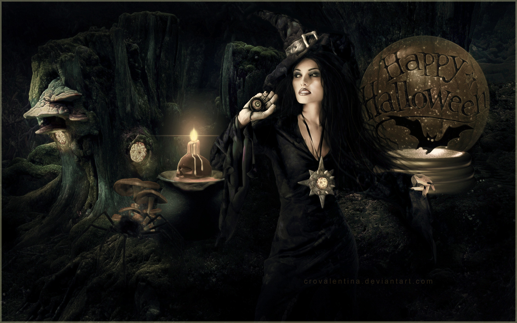 Free Witch Wallpapers and Backgrounds - WallpaperSafari