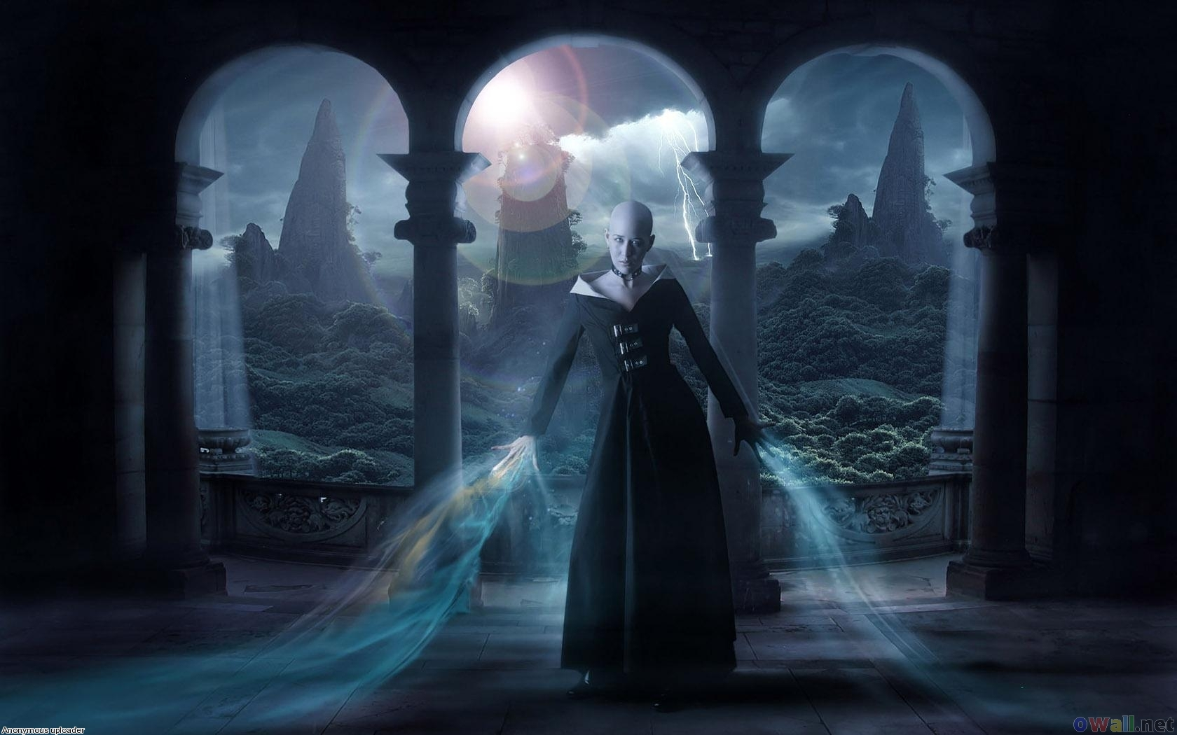 bald witch Wallpaper Background | 29334