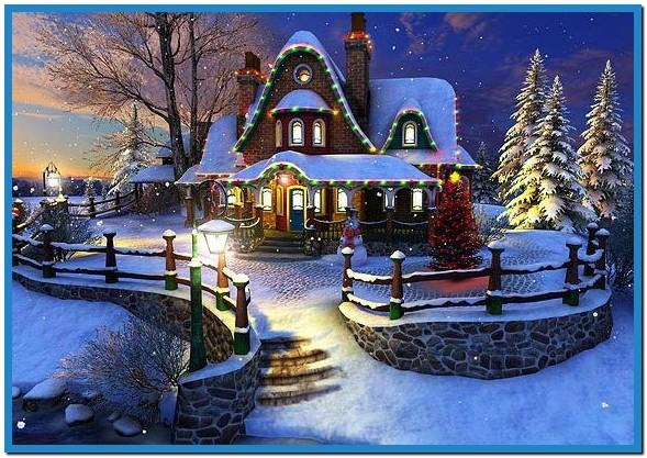 Free Christmas Screensavers And Wallpaper - WallpaperSafari