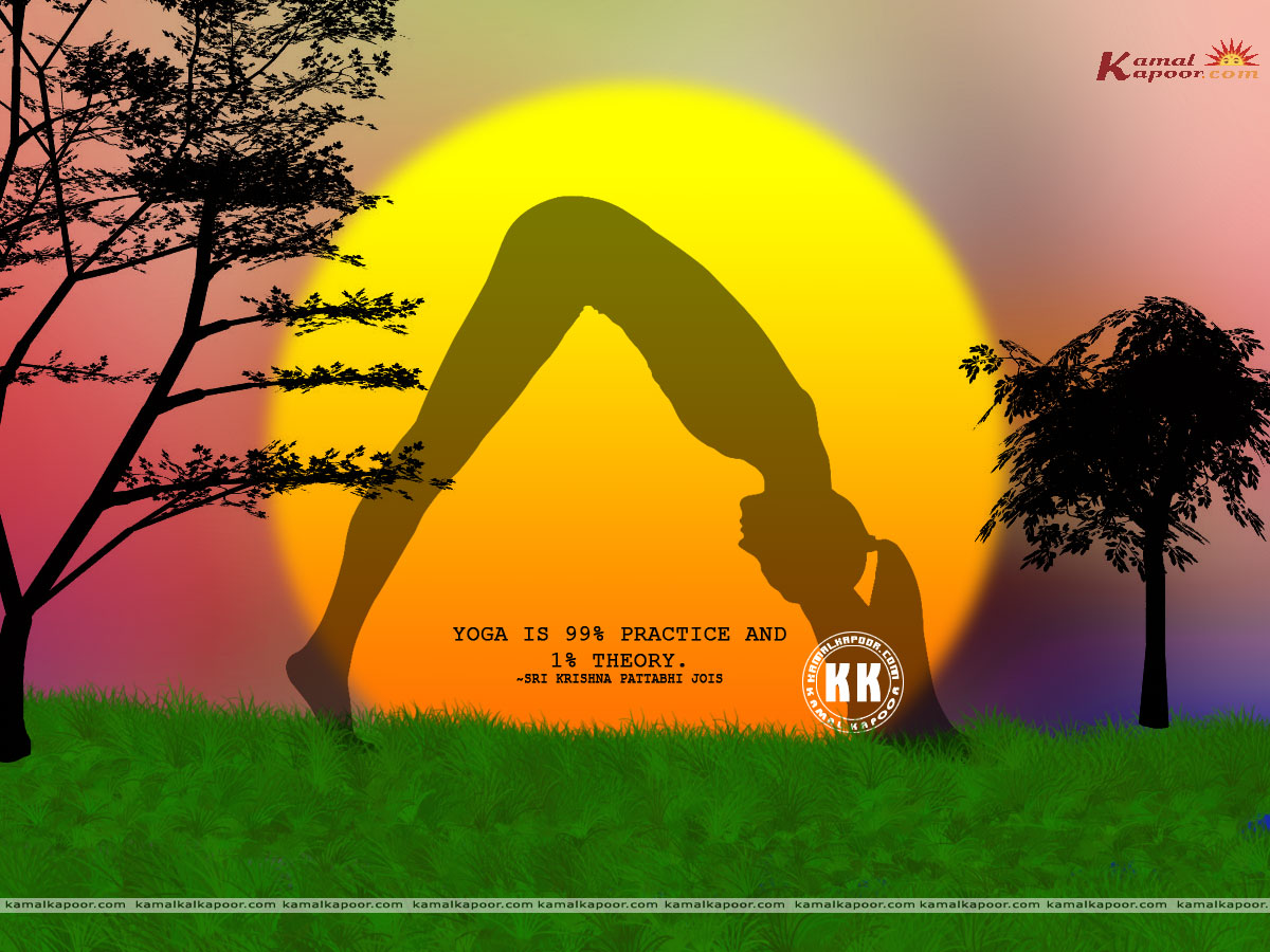Free Yoga Wallpaper