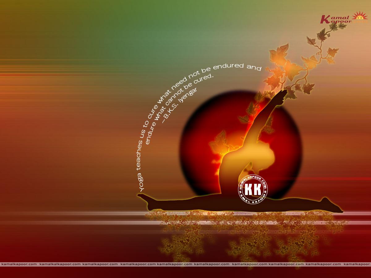 Yoga Desktop Wallpaper - WallpaperSafari