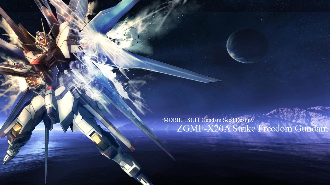 Strike Freedom Gundam Wallpaper - WallpaperSafari