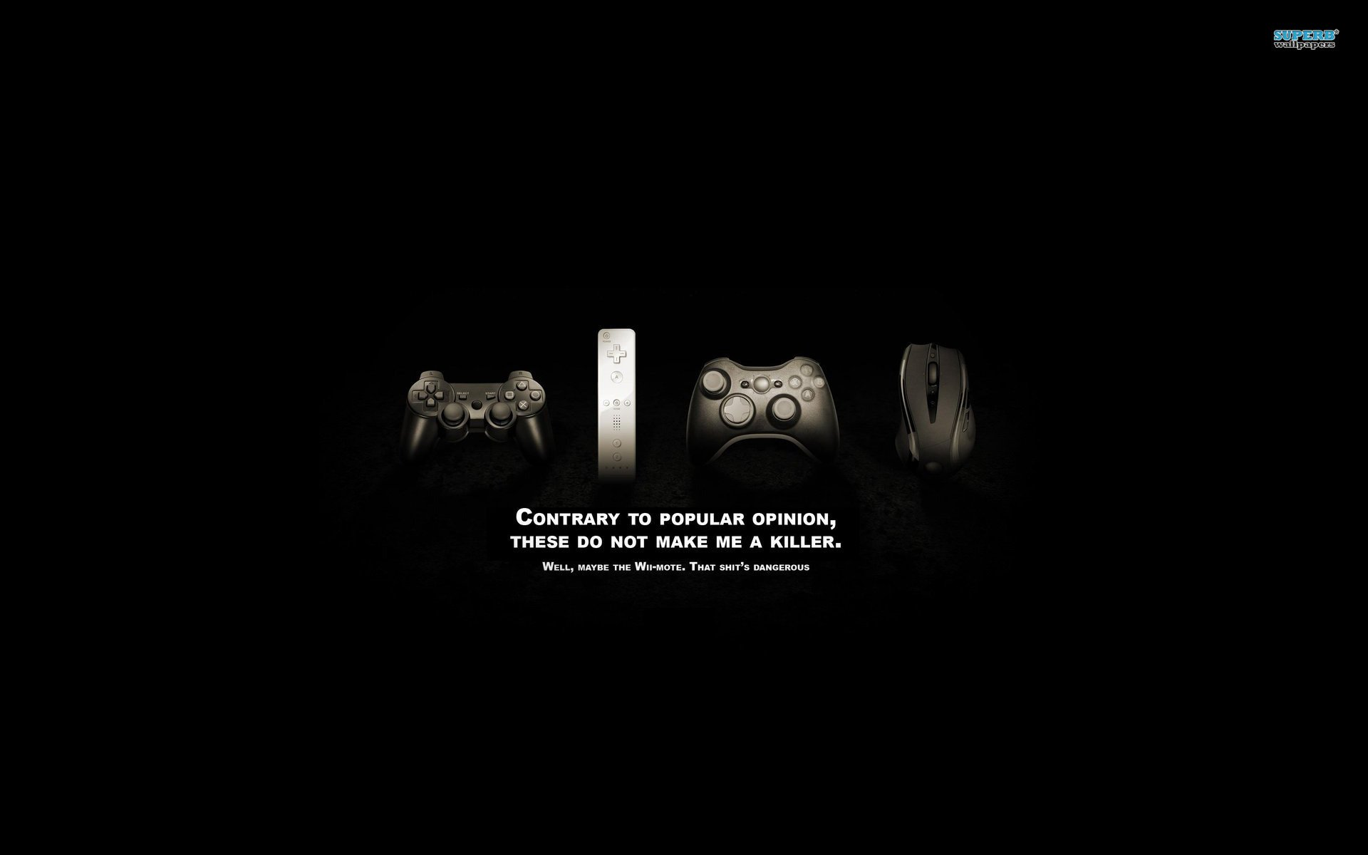 funny gaming wallpapers