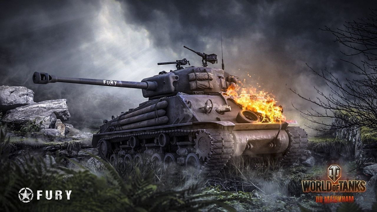 Fury and Tank Wallpapers - Fan Art - World of Tanks official forum
