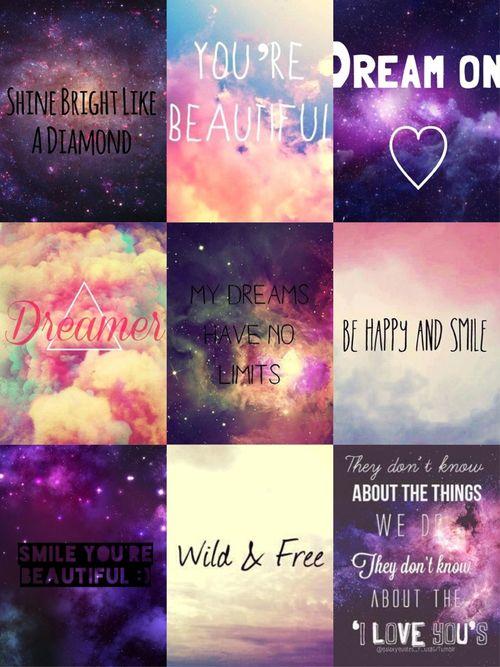 galaxy quotes wallpaper 3