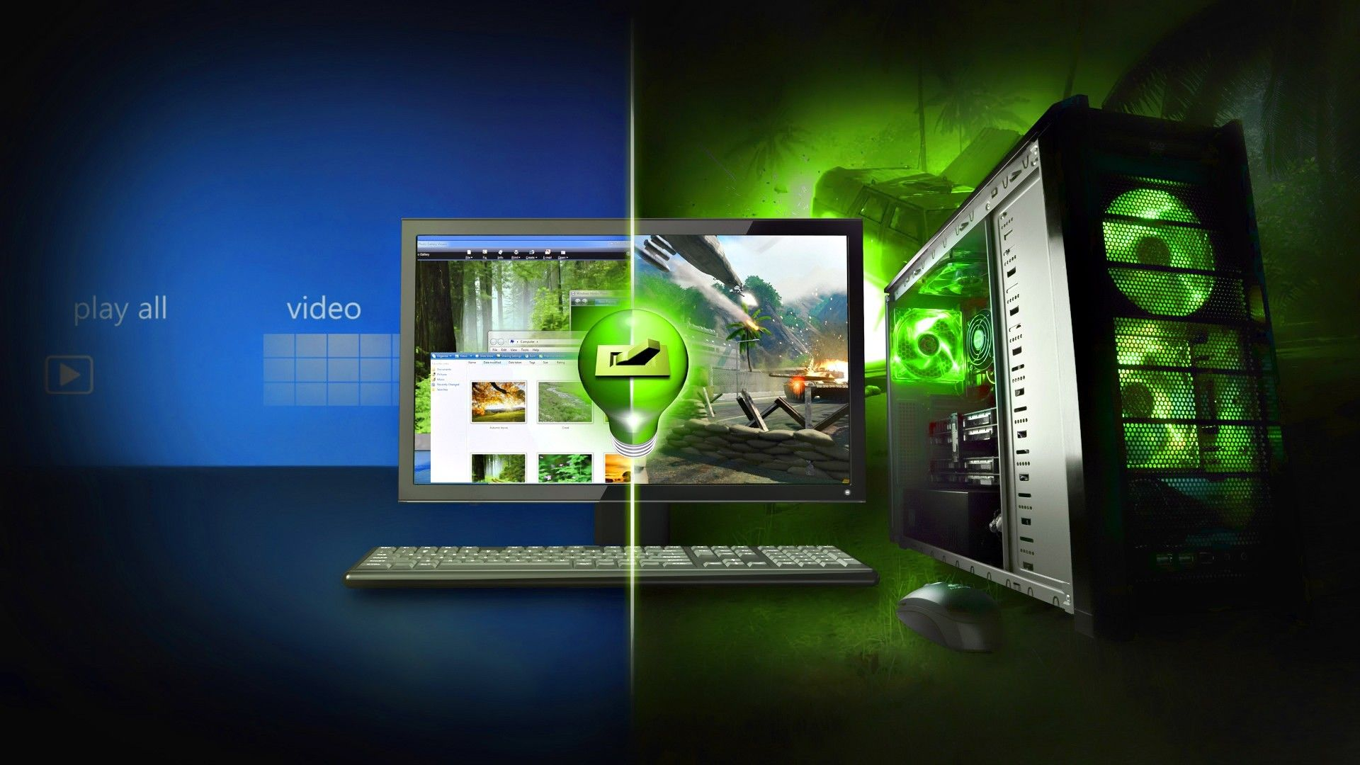 Collection of Gaming Pc Wallpaper on HDWallpapers