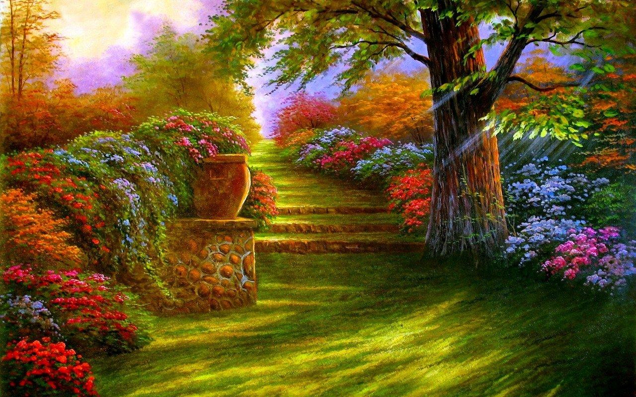 238 Garden HD Wallpapers | Backgrounds - Wallpaper Abyss