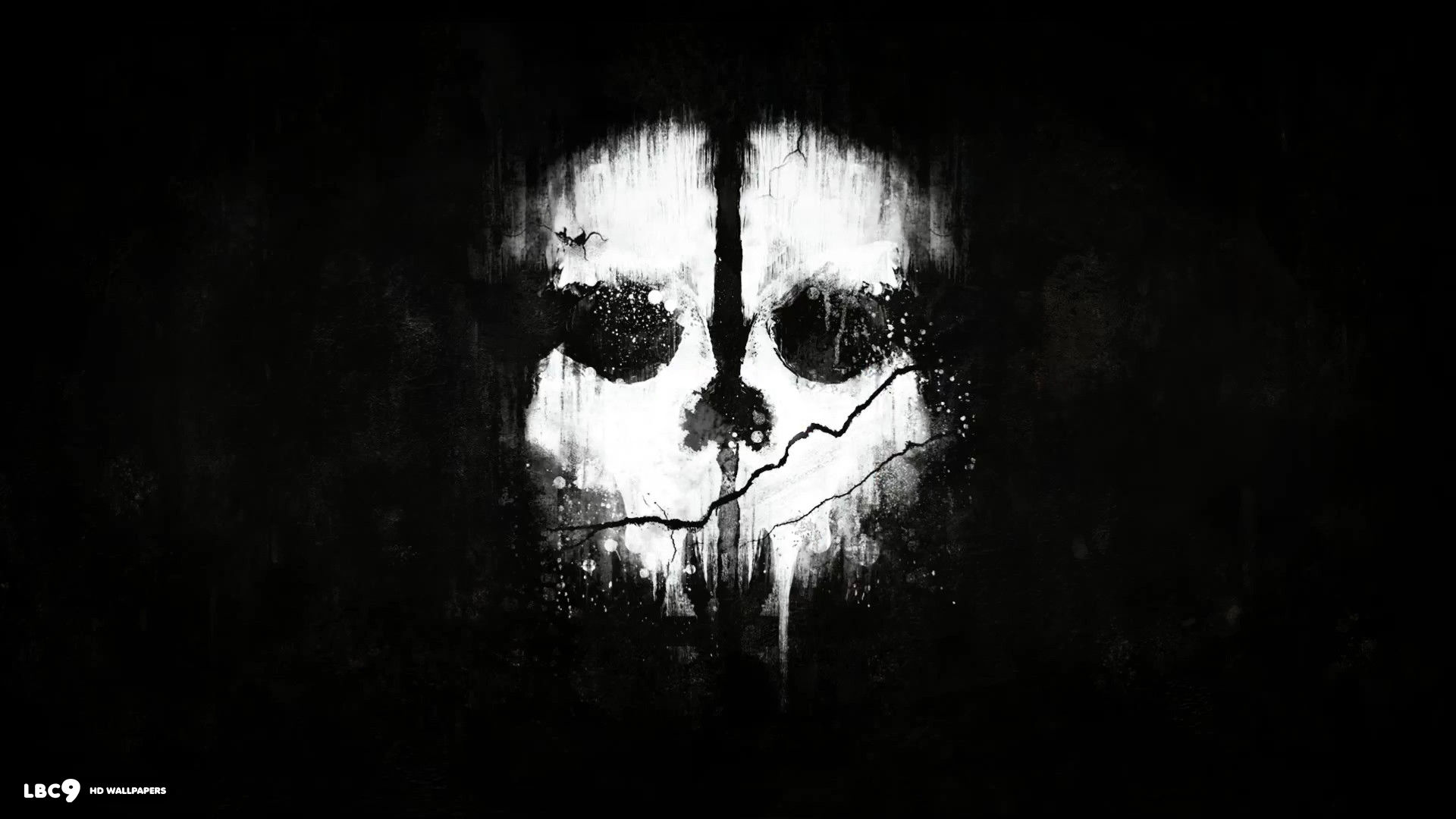 Ghost Skull Wallpaper Sf Wallpaper