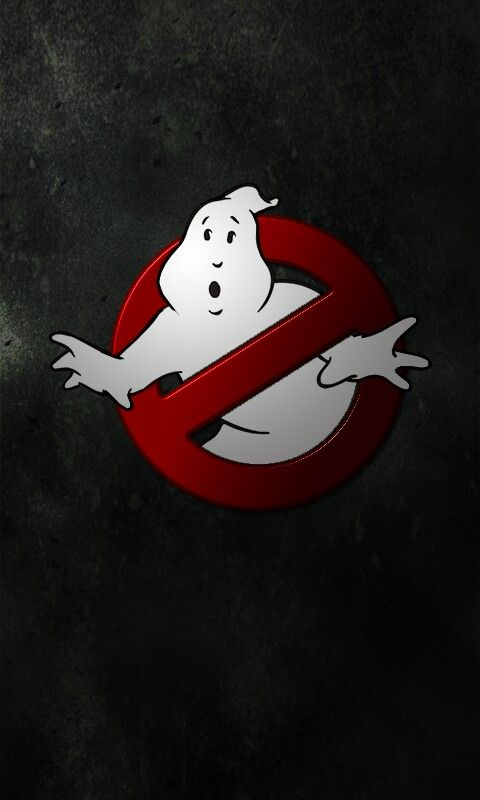 """Ghostbusters"""" Phone Wallpaper I created with PhotoShop"""