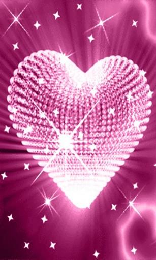 glitter heart wallpaper 11