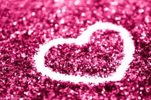 glitter heart wallpaper 6