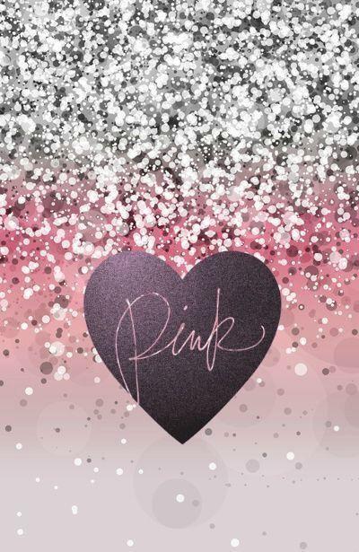 glitter heart wallpaper 8