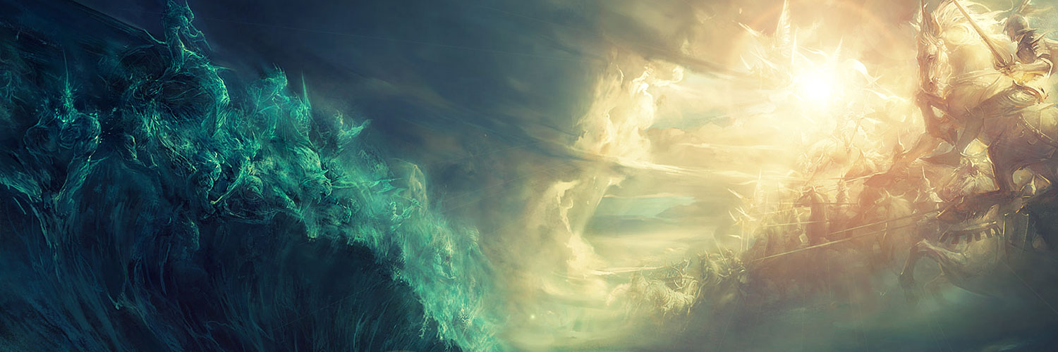 God Ships Storm Vehicles War Twitter Cover & Twitter Background