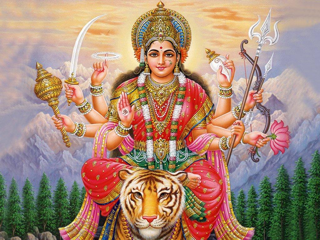 God Durga HD Wallpaper - WallpaperSafari