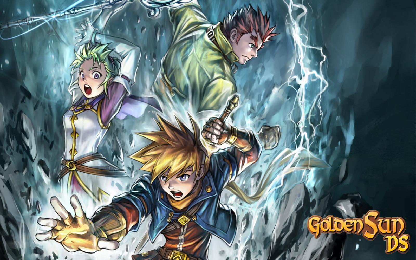 Golden Sun - Wallpapers and Gameplay Screenshots