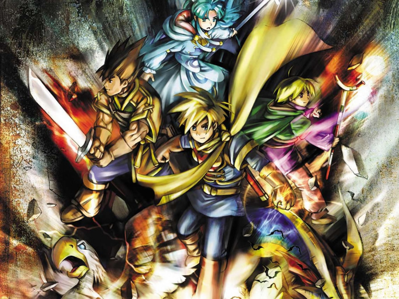 Golden Sun Wallpapers Page 1