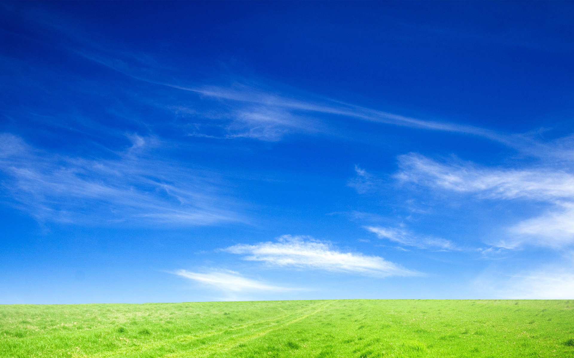 blue sky and green grass hd | Backgrounds | Pinterest | To be