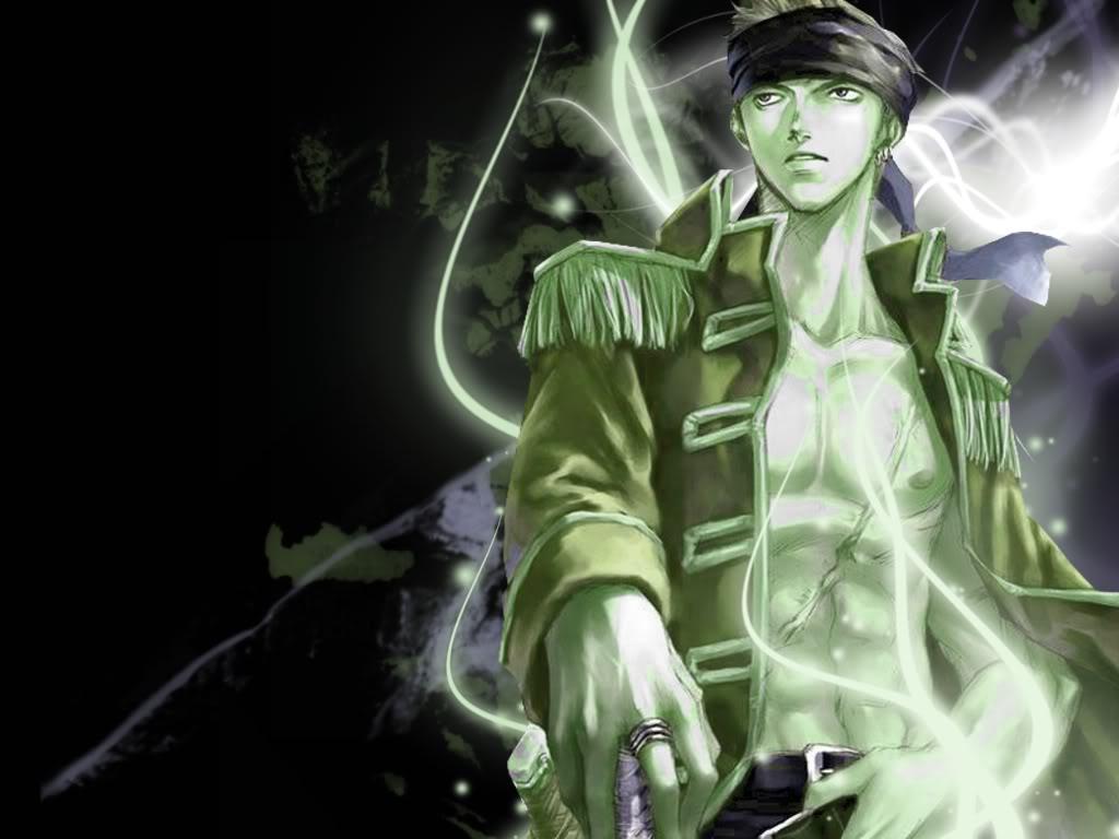 Anime Wallpaper Green Photo by Estelline | Photobucket