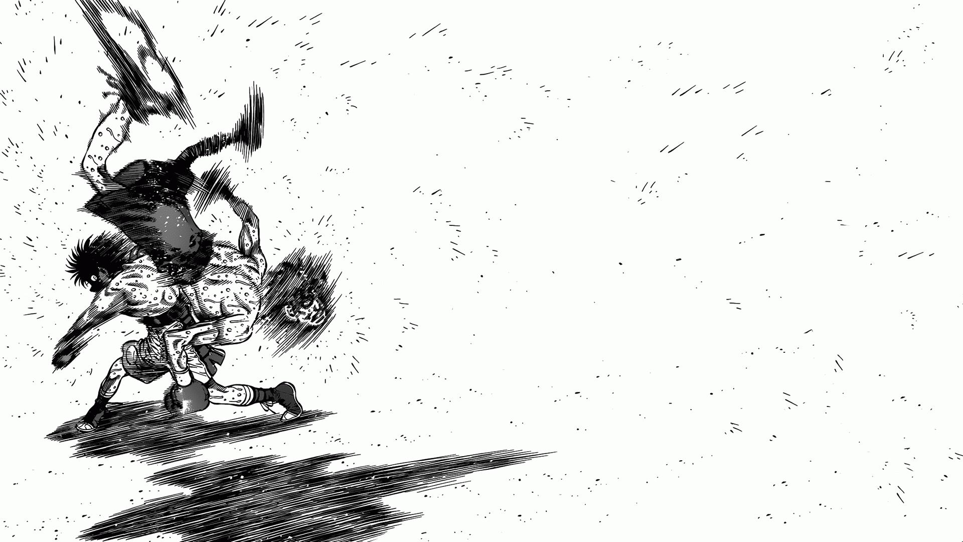 More 1080p Manga Wallpapers : hajimenoippo