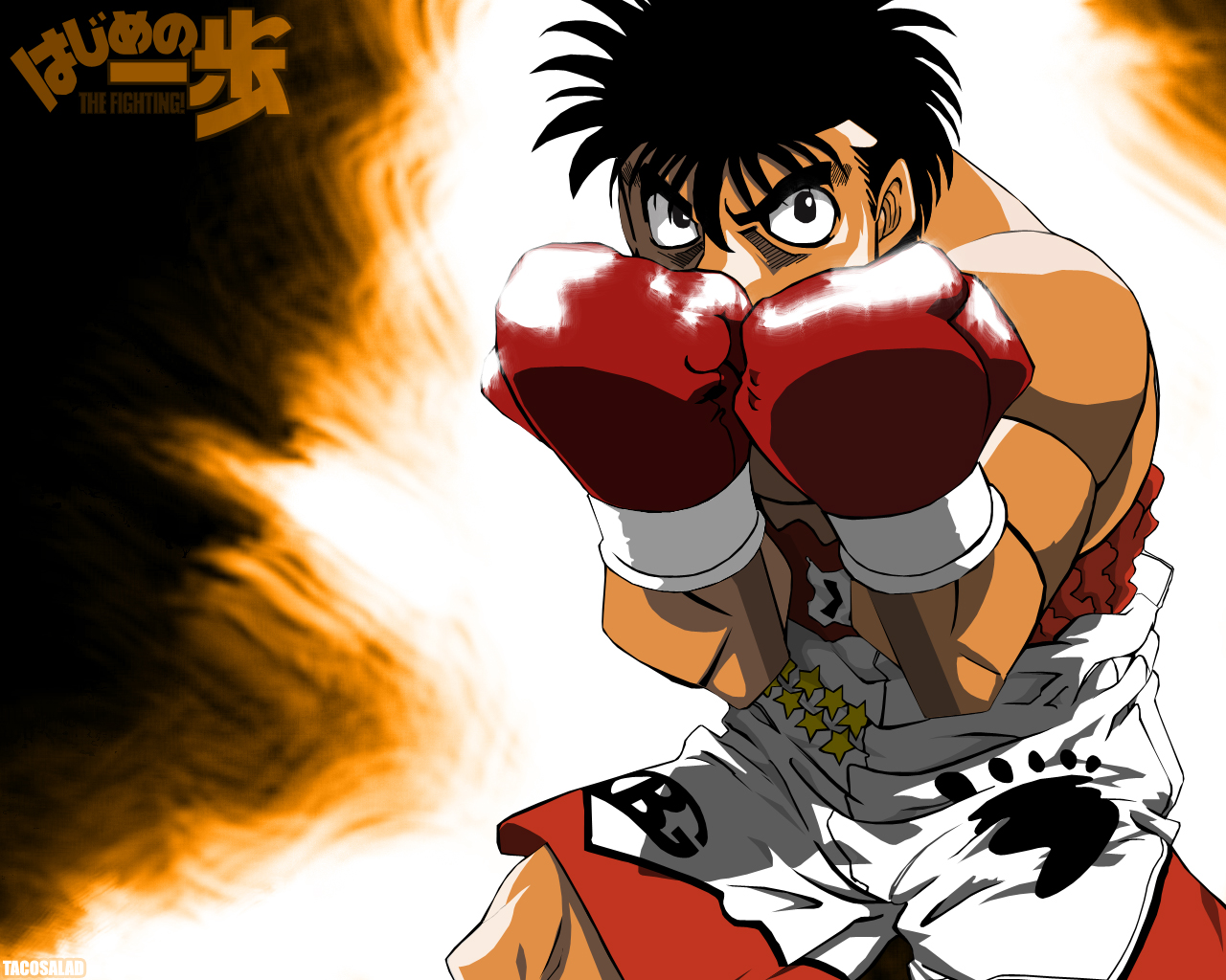 Fighting Spirit - Hajime no Ippo HD Wallpapers and Backgrounds