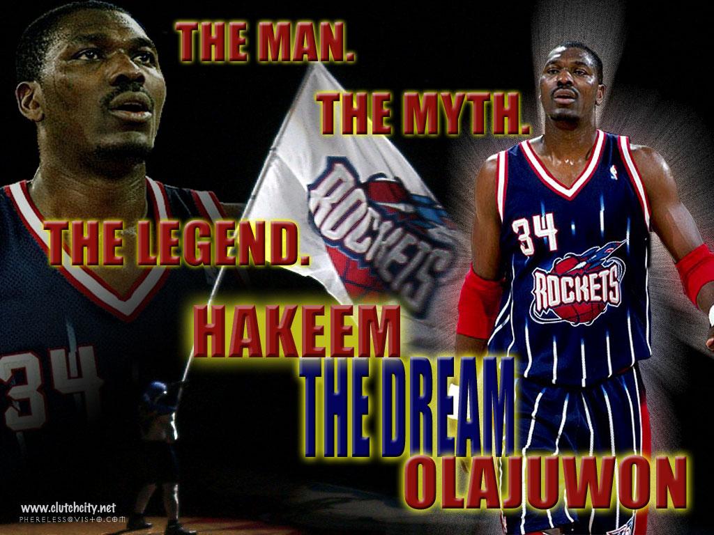 Hakeem Olajuwon NBA player wallpapers | NBA Wallpapers